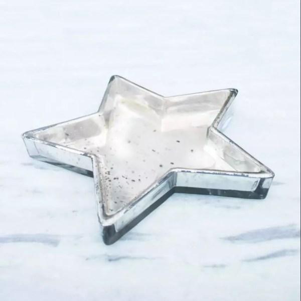 glass star tray