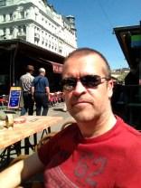 Enjoying the Sun at Naschtmarkt