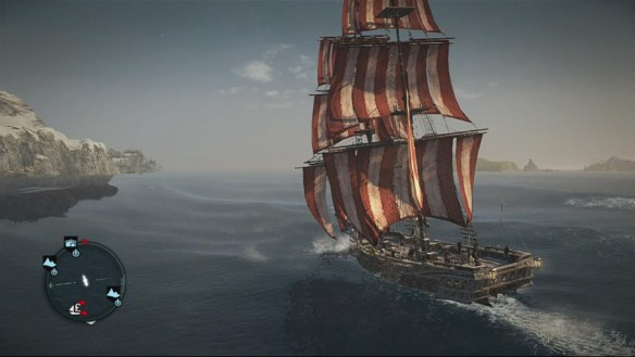 Yep, it's Black Flag without black flags.