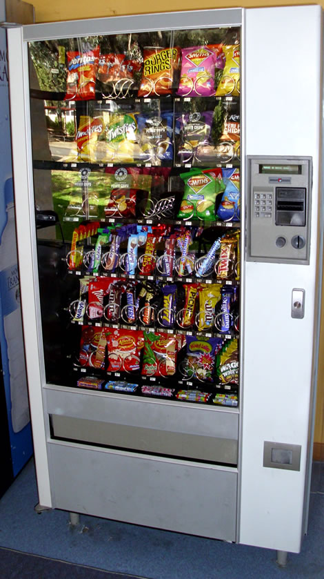 Vending Machines in Schools Promote Childhood Obesity