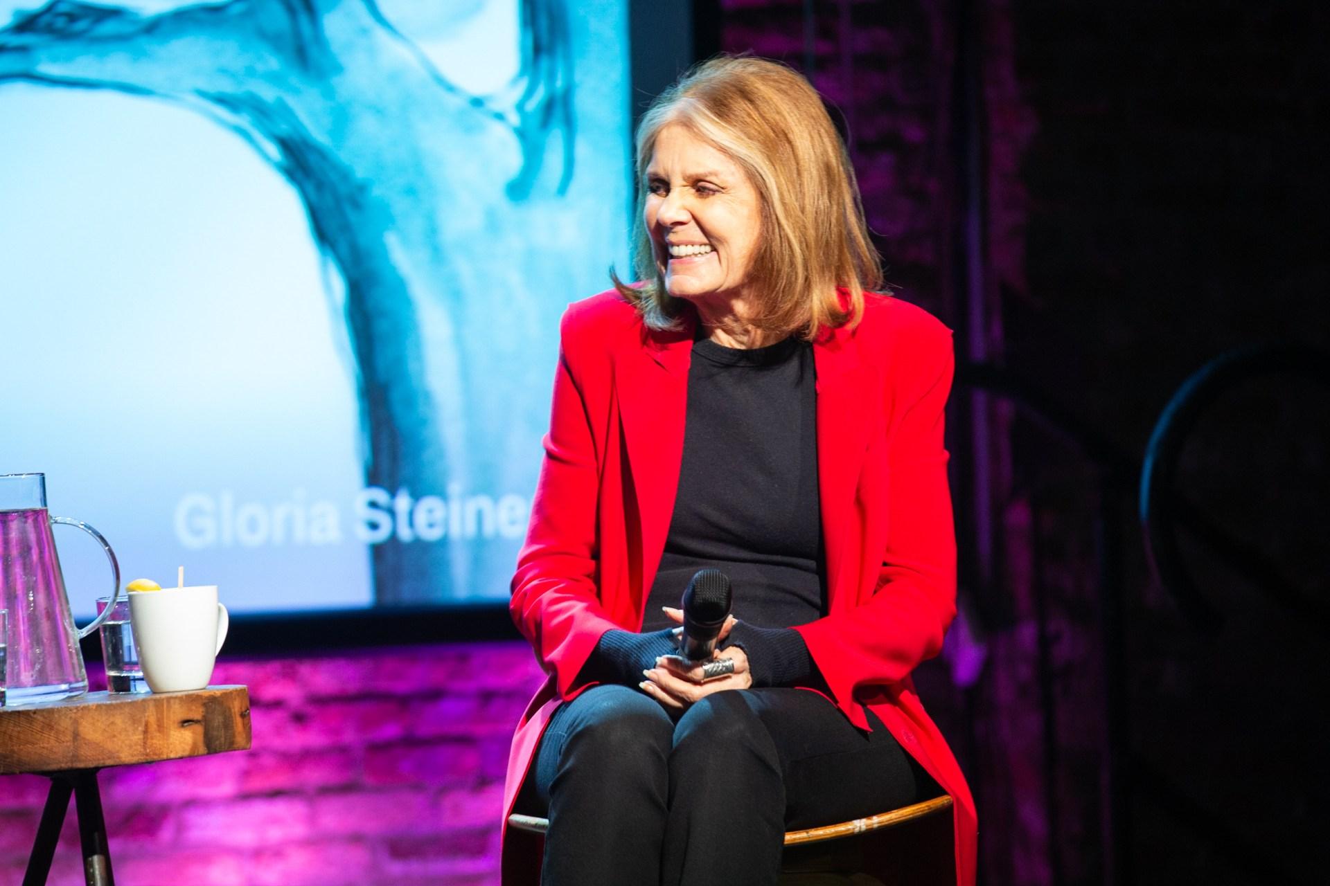 Ronan Farrow and Gloria Steinem