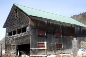 Barn at Vermont- Massachusetts border