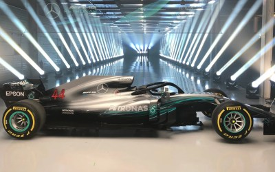 F1 Launch: Mercedes Reveal The W09