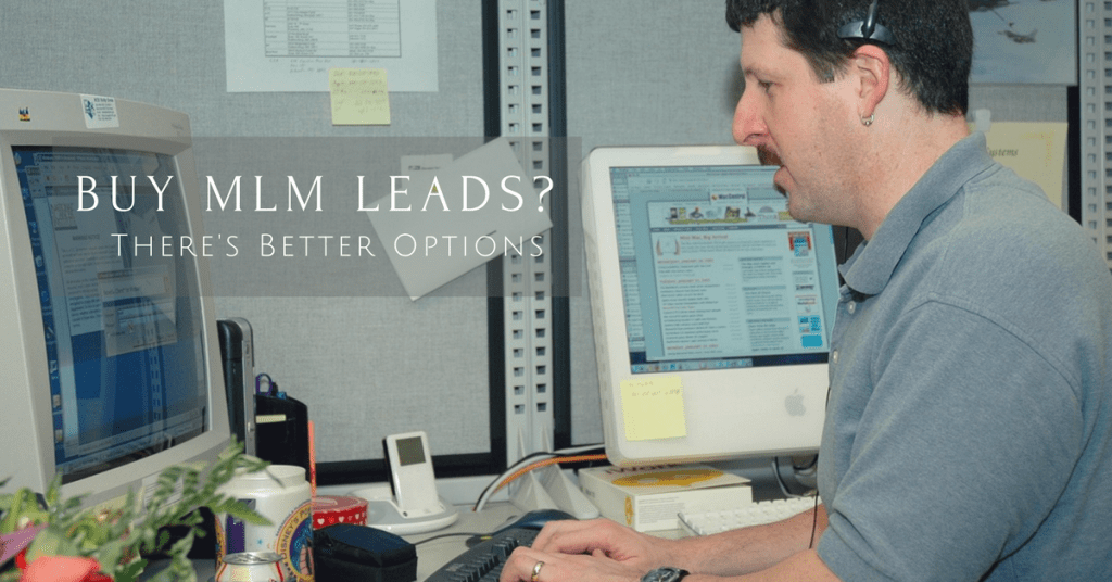 Buy MLM Leads:  I'd Go With No