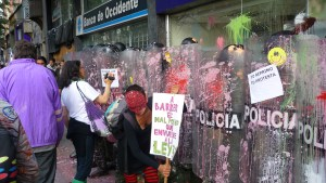 Demonstrations in Bogota