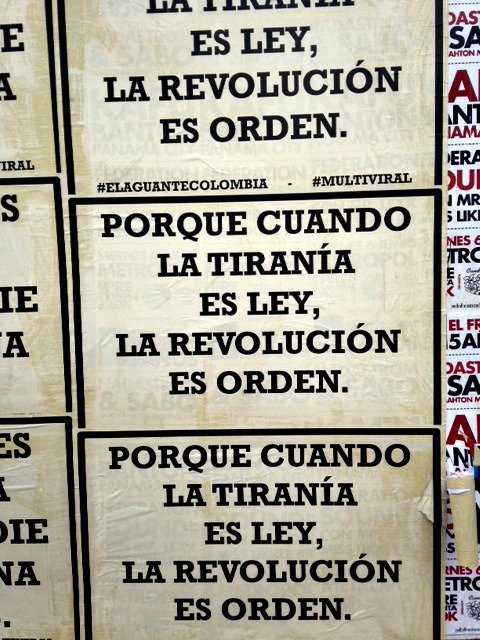 tyranny in colombia