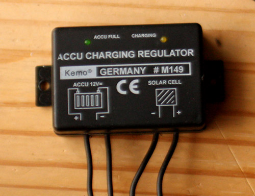 Kemo float charge controller