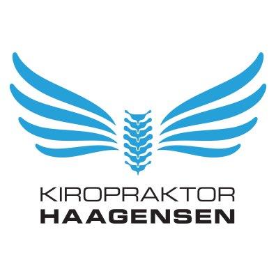 Endelig design av logo for Kiropraktor Haagensen
