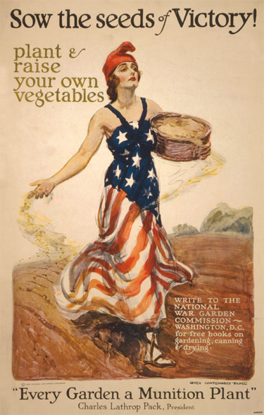 WW1 Victory Garden Poster 1