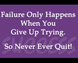 Quitting is Easy