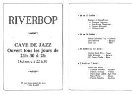 Programme Riverbop