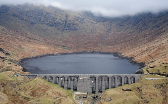 The upper reservoir at Cruachan