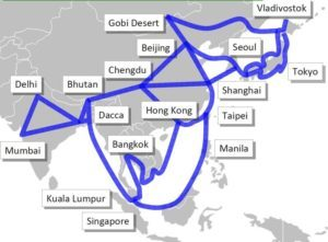 Proposed Asian Supergrid
