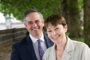 Caroline Lucas & Jonathan Bartley to head UK government???