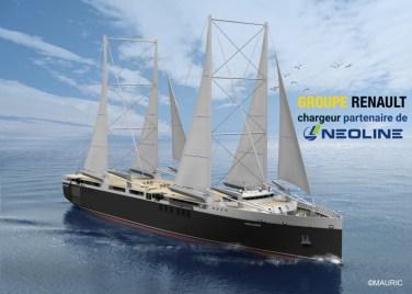 Renault-Neoline-sailing-cargo-ship