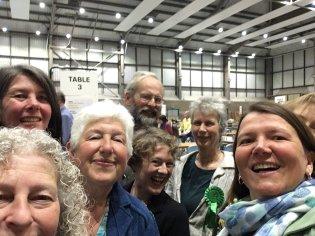 Greens win in Hfds