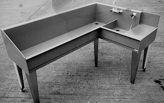 Richards Darkroom Sink Designs