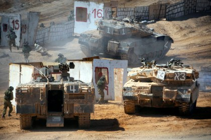 idf exercise syrian invasion
