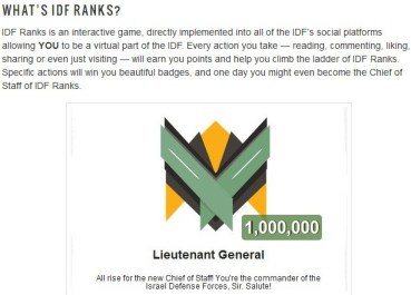 IDF Ranks - Join the Game!