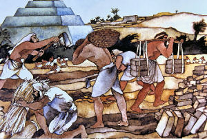 Hebrew slaves in Egypt