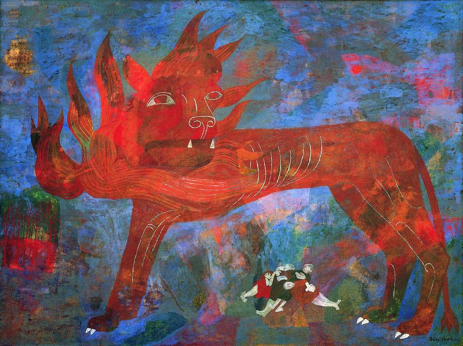 Ben Shahn Allegory
