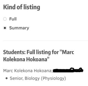 UW Shooting Suspect, Marc Hokoana, is Current University Student
