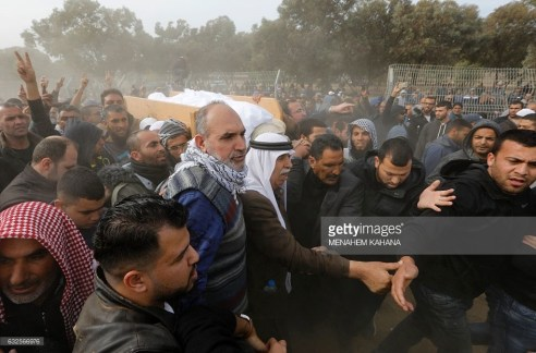 funeral of israeli bedouin yaqoub abu alqiyan