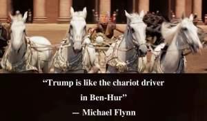 Trump as 'Ben-Hur'