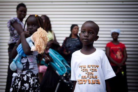 african refugee child