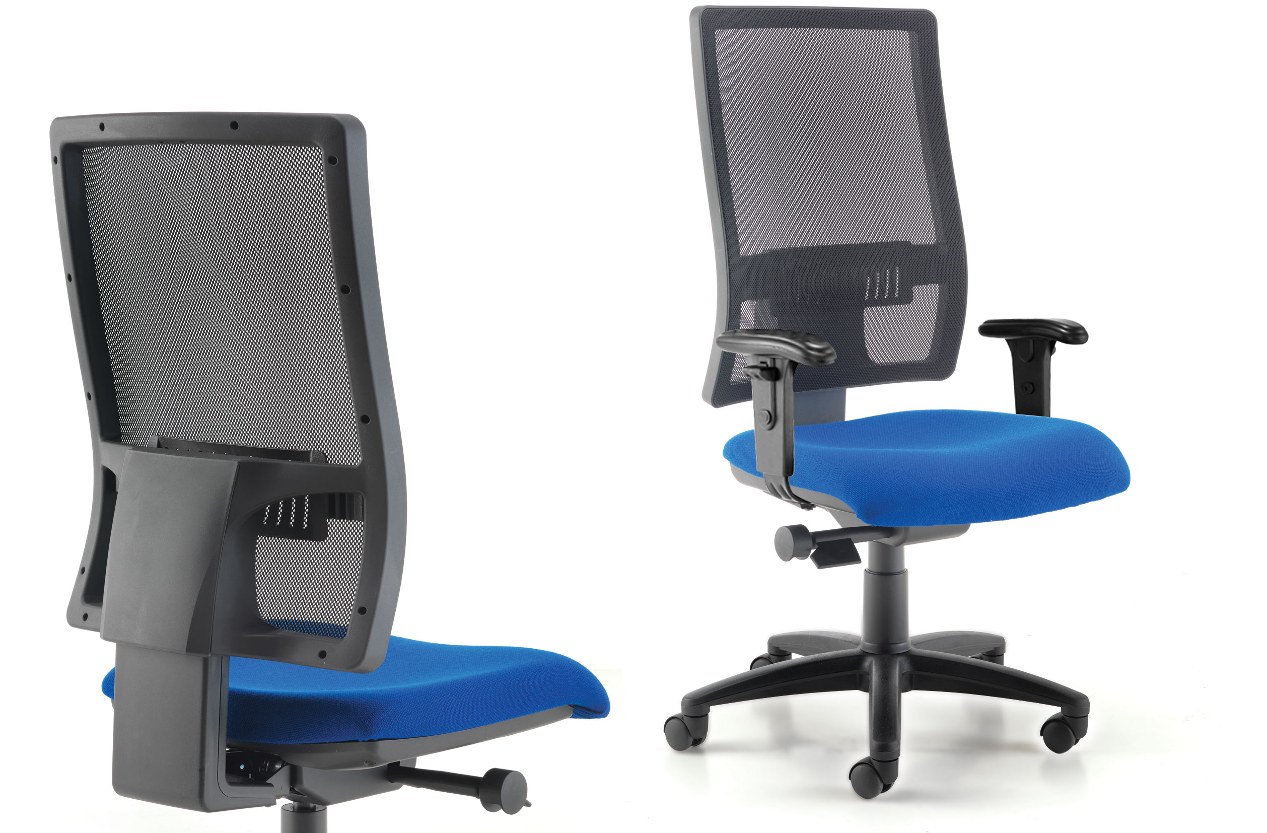 nhs posture chair stress less chairs harlequin mesh richardsons office furniture and supplies