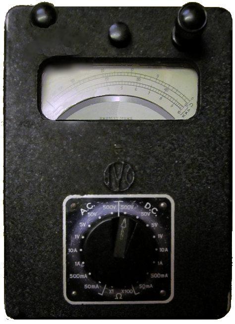 Analog Multimeter Circuit Diagram Avo Model 8 Universal Multimeter