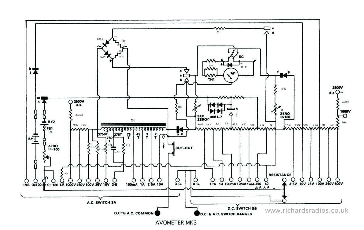 AVO model 8 universal multimeter