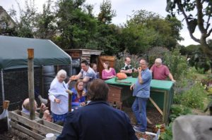 Plonk on the Plot was always popular amongst allotmenteers!