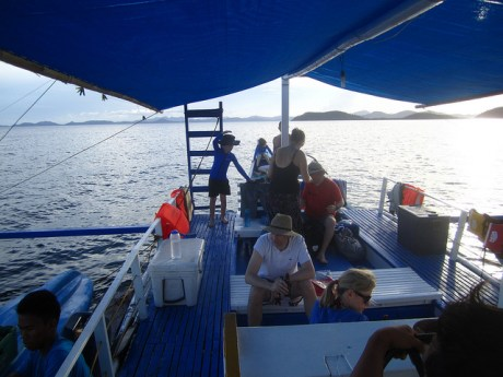Nine People On a Boat
