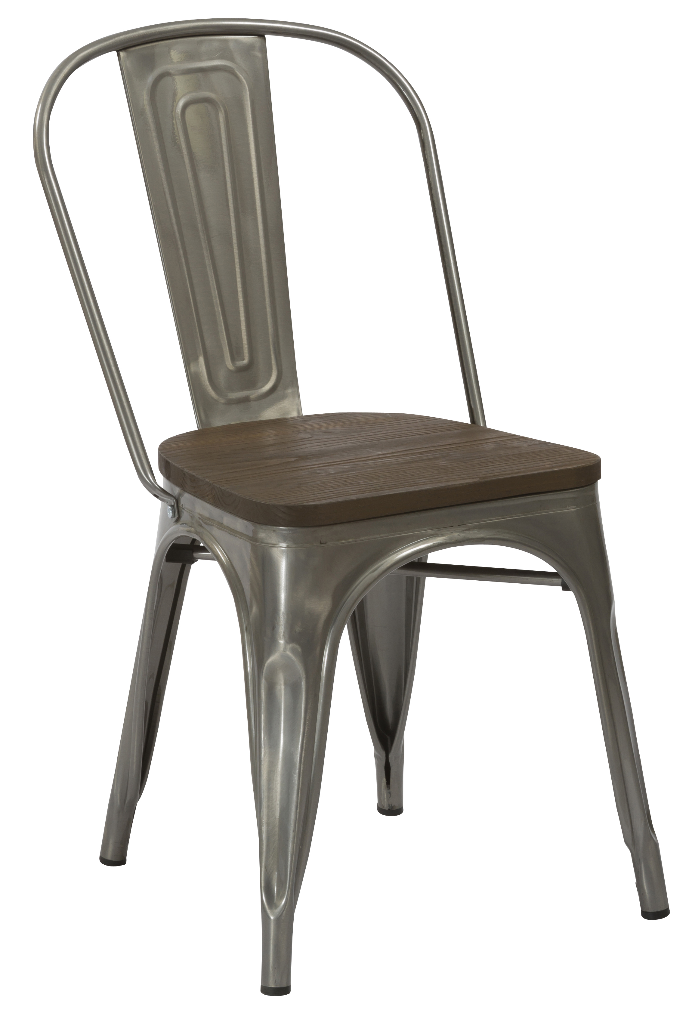 rustic metal dining chairs massage pedicure chair industrial antique gun distress cafe