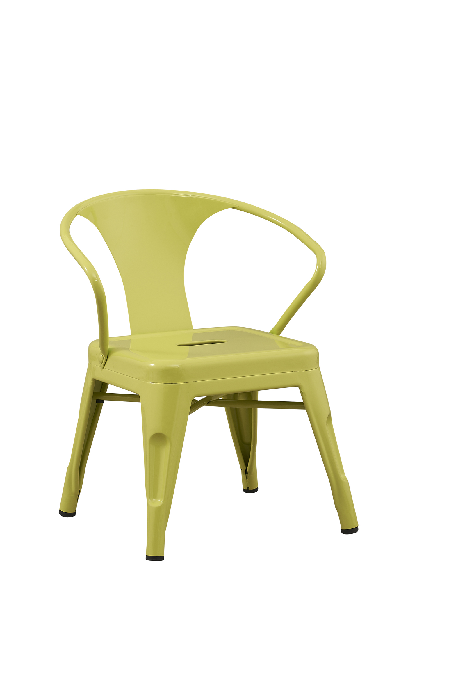 kids metal chairs stool chair fur solid rugged steel stacking industrial limeade play