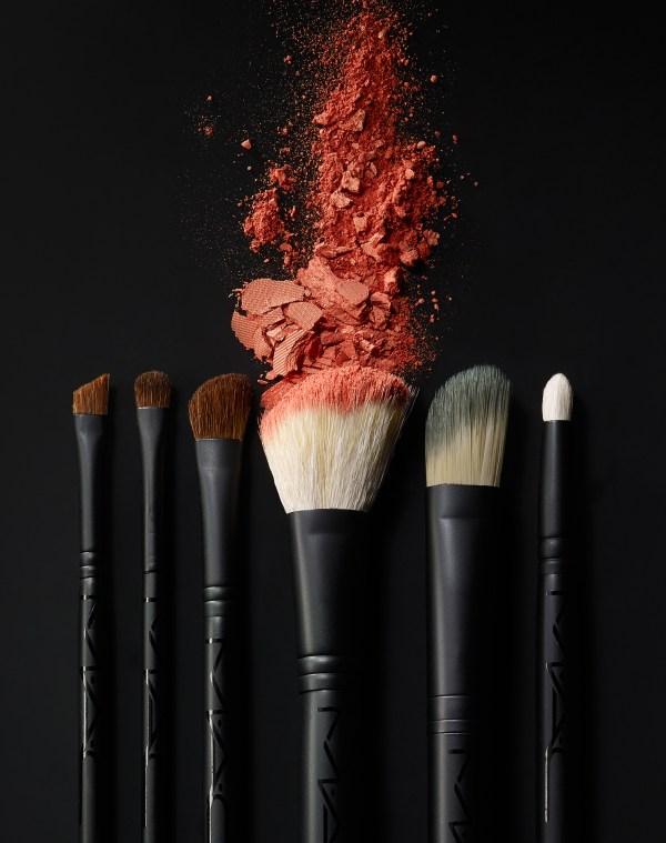 Mac Makeup Brushes Photography