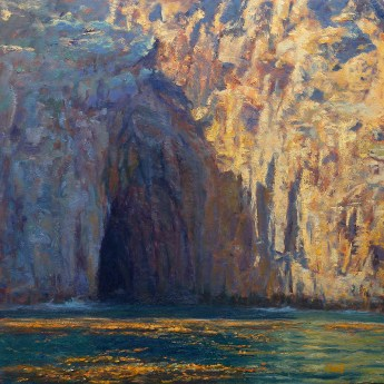 """""""The Watery Cave"""" 24x24"""" (SOLD)"""