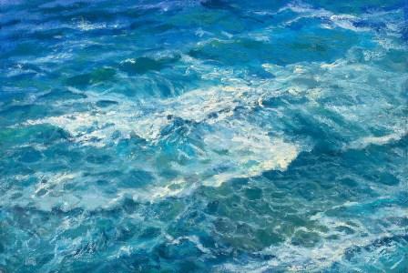 """""""Big Sur"""" 16x24"""" Oil on Canvas Panel"""