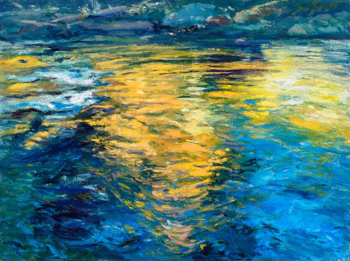 Lee Vining Reflections (Sold)