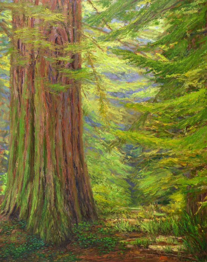 "Morning Woods 38x48"" (SOLD)"