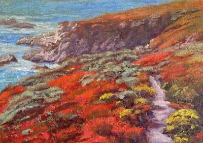 """Garrapata Trail - California State Park"" 15x20"" (SOLD)"