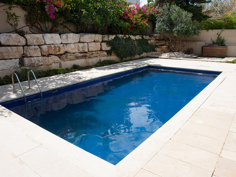 how to insatll swimming pool coping stones