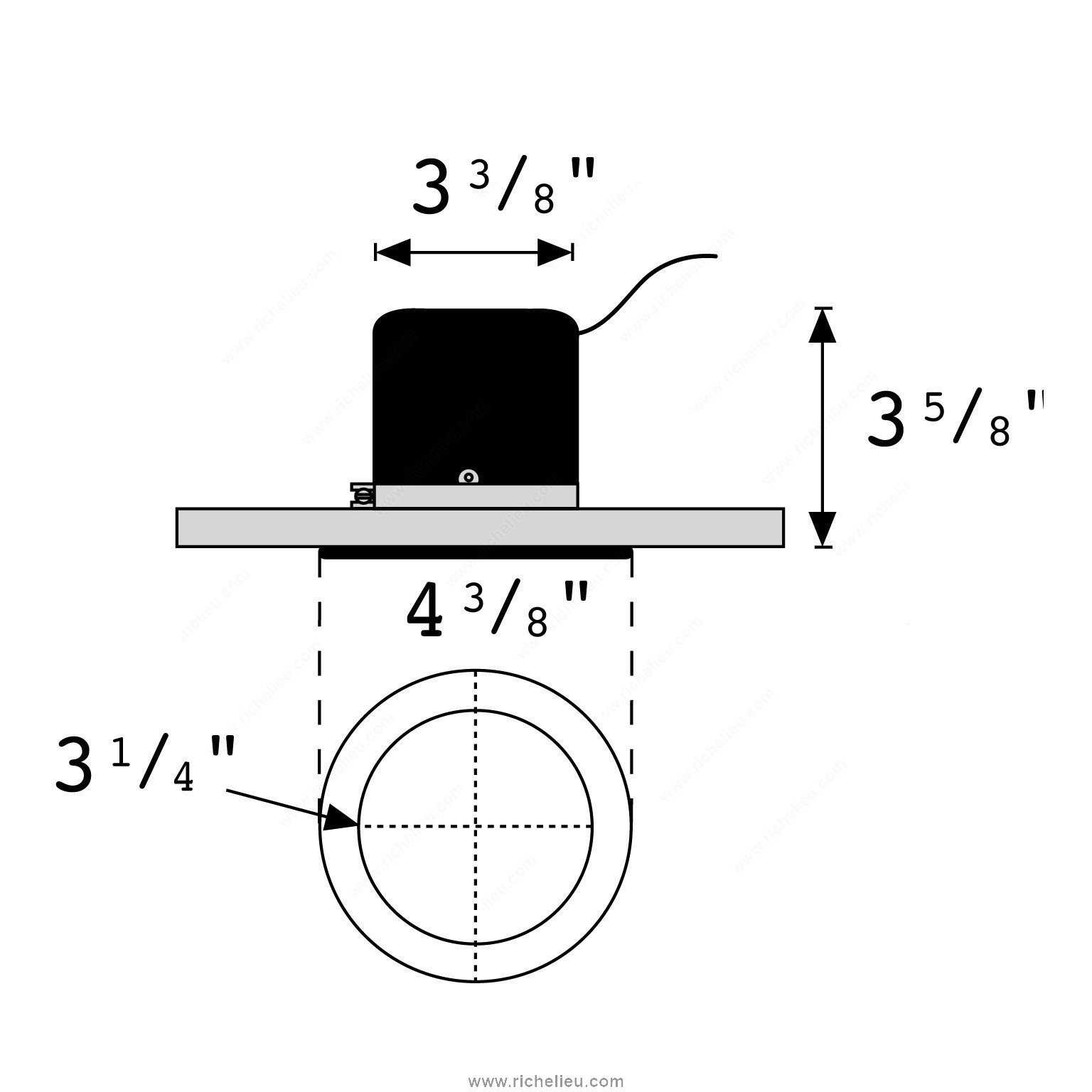 Capsylite 50 W Recessed Halogen Lamp