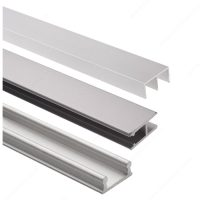 Track Set for Display Glass Sliding Doors - Richelieu Hardware