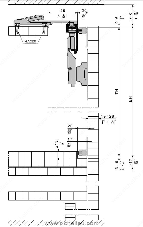 System for Lateral Bi-Fold/Pocket Doors. HAWA-Folding