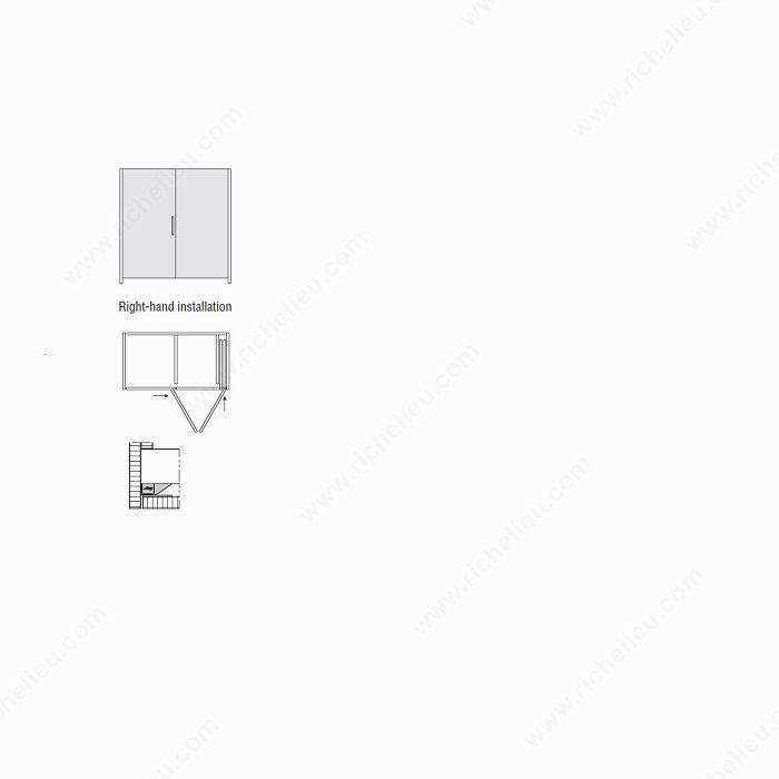 hawa folding concepta 25 tall slide