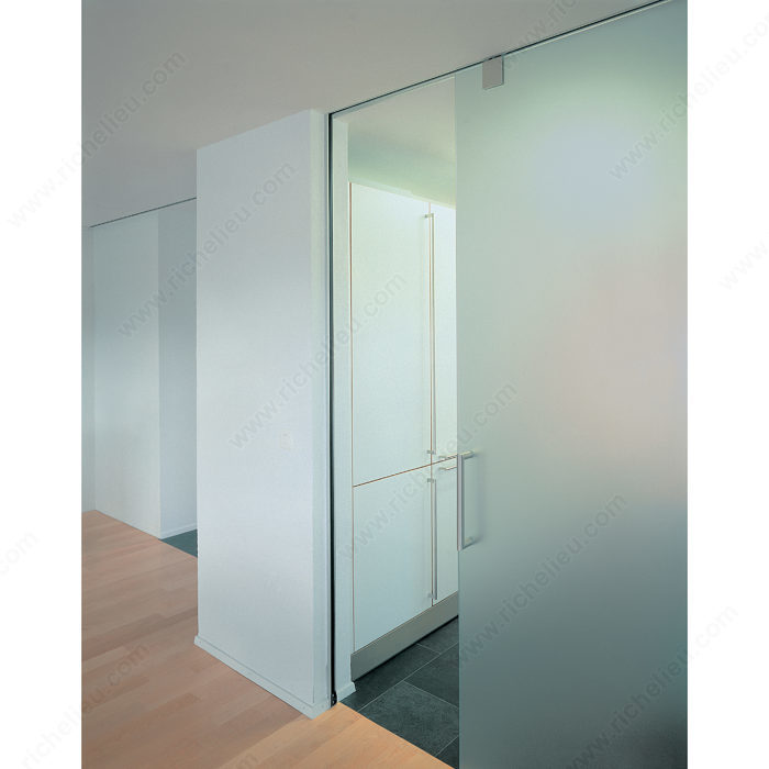 top hung sliding system for glass doors