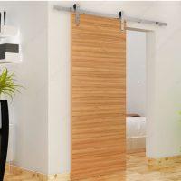The Zenitude Contemporary Barn Door Set - Richelieu Hardware
