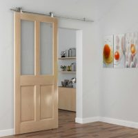 The Industrial 2 Barn Door Kit with 2.0 m Track ...